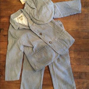 Cherokee Matching Sets Boys 3t Seersucker Suit And Hat Poshmark